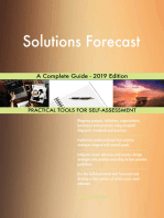 Solutions Forecast A Complete Guide - 2019 Edition