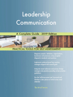 Leadership Communication A Complete Guide - 2019 Edition