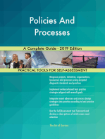 Policies And Processes A Complete Guide - 2019 Edition