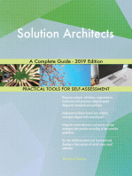 Solution Architects A Complete Guide - 2019 Edition