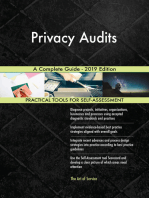 Privacy Audits A Complete Guide - 2019 Edition
