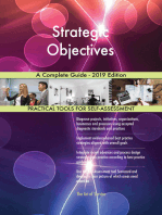 Strategic Objectives A Complete Guide - 2019 Edition
