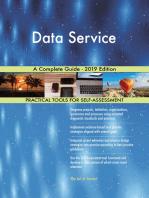 Data Service A Complete Guide - 2019 Edition