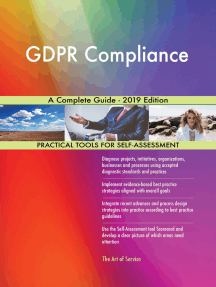 GDPR Compliance A Complete Guide - 2019 Edition