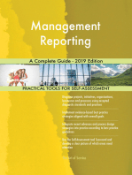 Management Reporting A Complete Guide - 2019 Edition