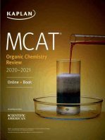MCAT Organic Chemistry Review 2020-2021