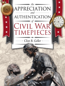 The Appreciation and Authentication of Civil War Timepieces