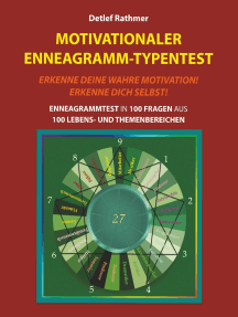 Motivationaler Enneagramm-Typentest: Enneagrammtest in 100 Fragen aus 100 Lebens- und Themenbereichen