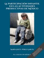 La participación infantil en las actividades productivas de México