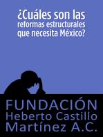 ¿Cuáles son las reformas estructurales que necesita México?