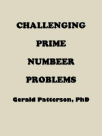 Challenging Prime Number Problems