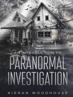 An Introduction to Paranormal Investigation