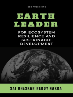 Earth Leader for Ecosystem Resilience and Sustainable Development