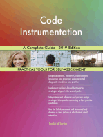 Code Instrumentation A Complete Guide - 2019 Edition