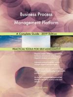 Business Process Management Platform A Complete Guide - 2019 Edition