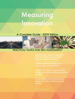 Measuring Innovation A Complete Guide - 2019 Edition