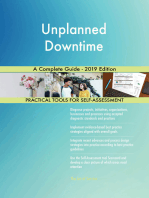 Unplanned Downtime A Complete Guide - 2019 Edition
