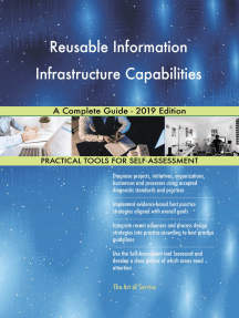 Reusable Information Infrastructure Capabilities A Complete Guide - 2019 Edition