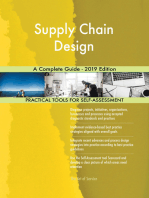 Supply Chain Design A Complete Guide - 2019 Edition