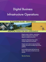 Digital Business Infrastructure Operations A Complete Guide - 2019 Edition