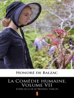 La Comédie humaine. Volume VII