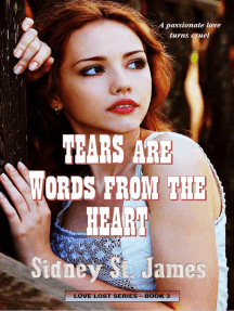 Tears Are Words from the Heart: Love Lost Series, #3