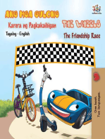 The Wheels The Friendship Race (Tagalog English Bilingual Book)