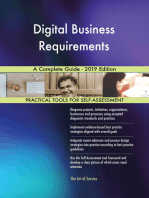 Digital Business Requirements A Complete Guide - 2019 Edition