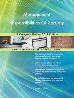 Management Responsibilities Of Security A Complete Guide - 2019 Edition