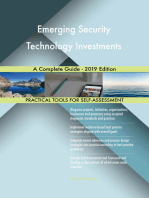 Emerging Security Technology Investments A Complete Guide - 2019 Edition