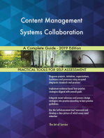 Content Management Systems Collaboration A Complete Guide - 2019 Edition