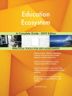 Education Ecosystem A Complete Guide - 2019 Edition