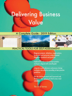 Delivering Business Value A Complete Guide - 2019 Edition