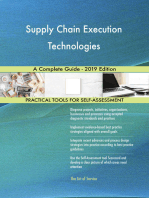 Supply Chain Execution Technologies A Complete Guide - 2019 Edition