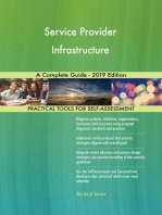 Service Provider Infrastructure A Complete Guide - 2019 Edition