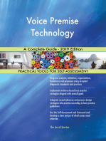 Voice Premise Technology A Complete Guide - 2019 Edition