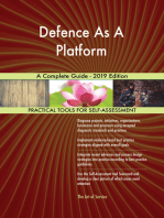 Defence As A Platform A Complete Guide - 2019 Edition