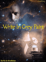 Write In Grey Paint
