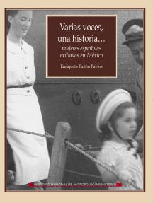 Varias voces, una historia…: Mujeres exiliadas en México