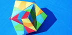'Protein Origami' Forms 2D Triangles And Squares