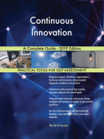 Continuous Innovation A Complete Guide - 2019 Edition