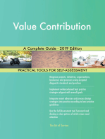 Value Contribution A Complete Guide - 2019 Edition