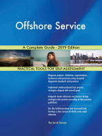 Offshore Service A Complete Guide - 2019 Edition