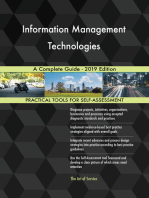 Information Management Technologies A Complete Guide - 2019 Edition