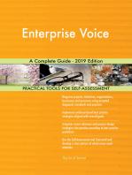 Enterprise Voice A Complete Guide - 2019 Edition