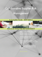Collaborative Supplier Risk Management A Complete Guide - 2019 Edition