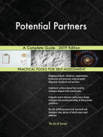 Potential Partners A Complete Guide - 2019 Edition
