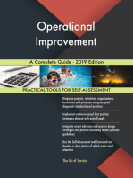 Operational Improvement A Complete Guide - 2019 Edition