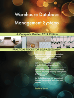 Warehouse Database Management Systems A Complete Guide - 2019 Edition