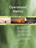 Operational Metrics A Complete Guide - 2019 Edition